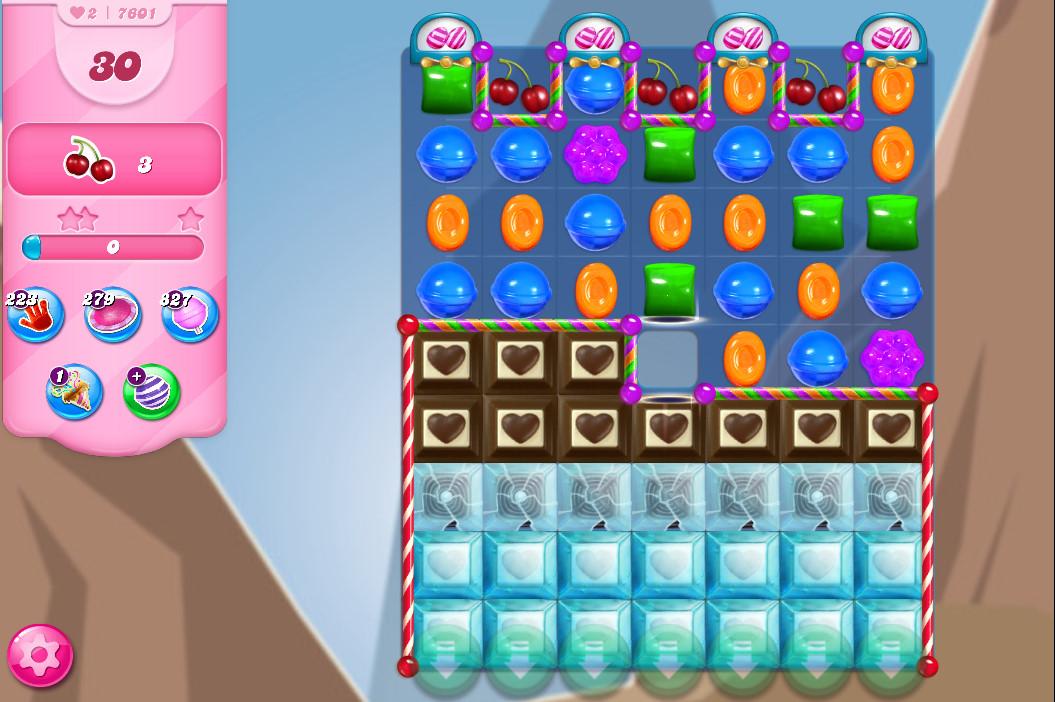 Candy Crush Saga level 7601