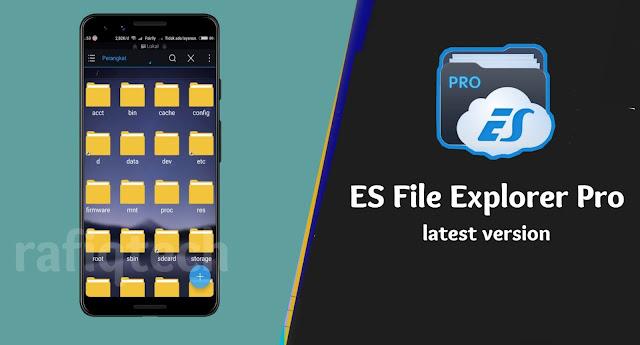 ES File Explorer  PRO APK تحميل عملاق مدير الملفات للأندرويد