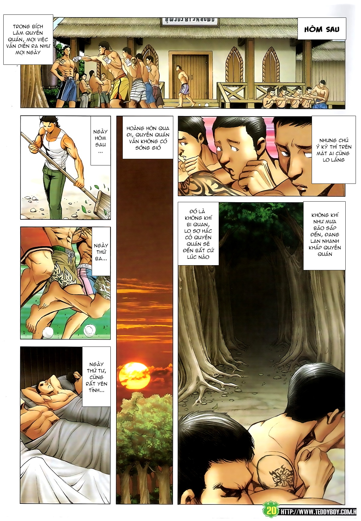 Người Trong Giang Hồ - Chapter 1395: Phiên bản Đại Phi - Pic 16