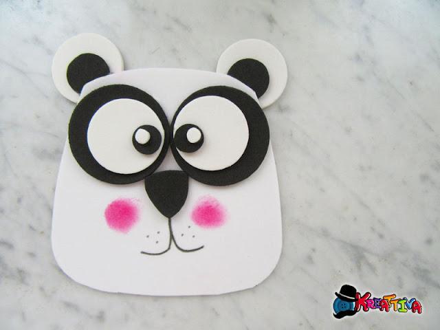 Uso alternativo della fustella gufo Panda