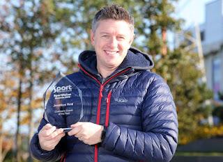 Belfast City Bmx club Jonathan Reid Childrens Coach of the year