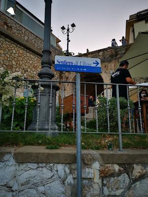 dal centro di Sperlonga alla villa di Tiberio