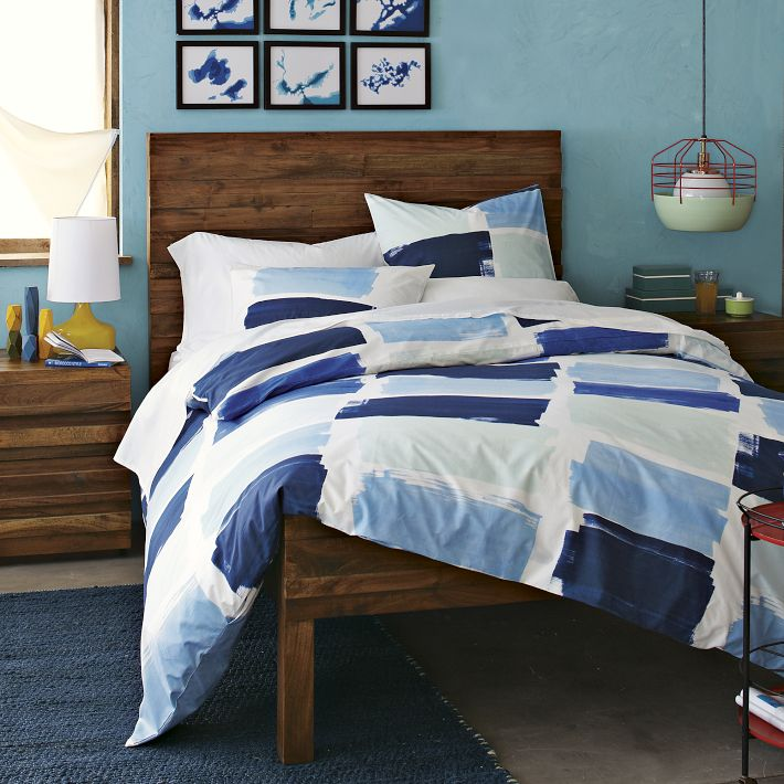 Blue And White Breezy Bedroom Inspiration