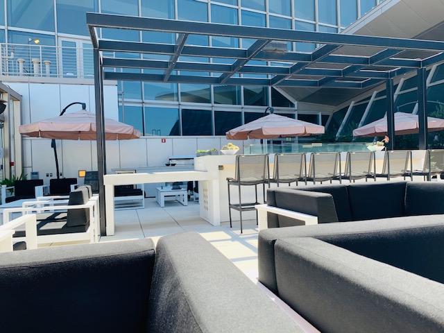 LAX Star Alliance Business Class Lounge Review For Avianca Business Class LAX - Bogota (BOG)