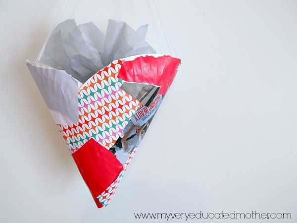 A quick and easy Valentine's Day kids craft!
