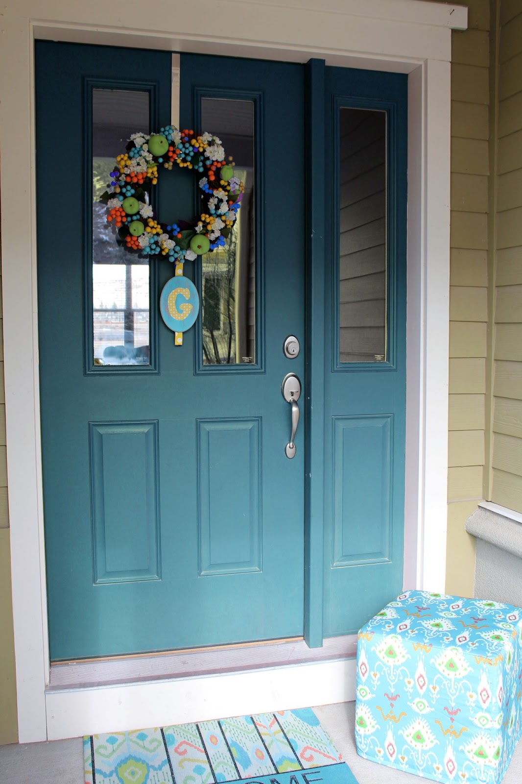 Worth Pinning: Changing the Color of the Front Door on Door Color Ideas  id=32138