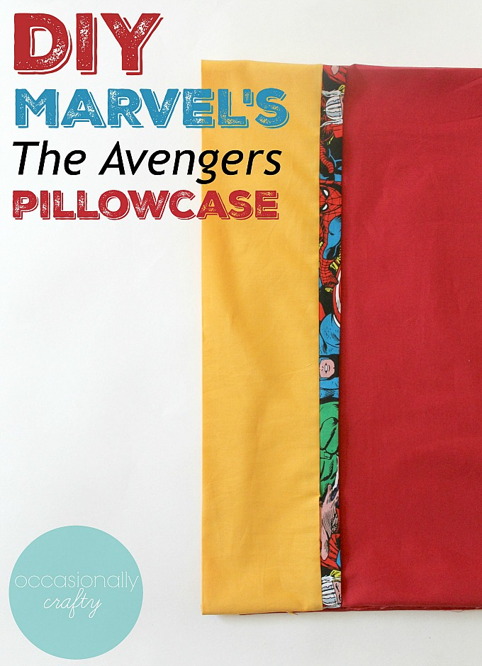 Sew your own cute pillowcases with this easy DIY Tutorial!