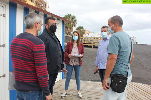 Santa Cruz de La Palma solicita, por primera vez, la bandera azul para la playa de la capital