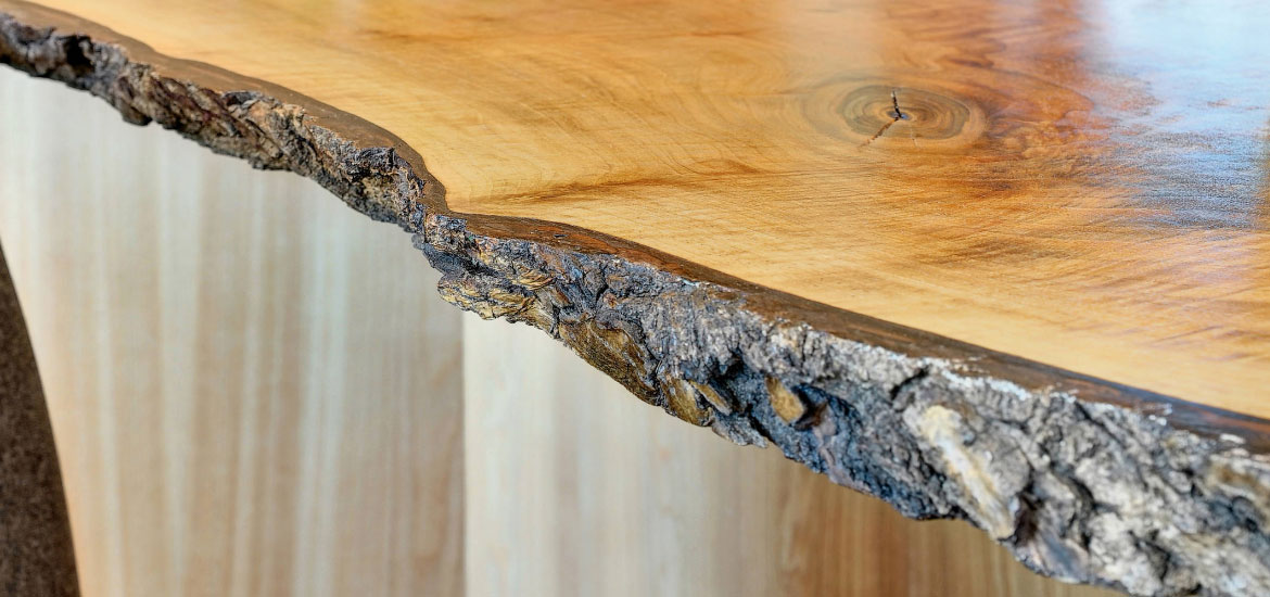 Unique Reclaimed & Live Edge Wood Counter Top