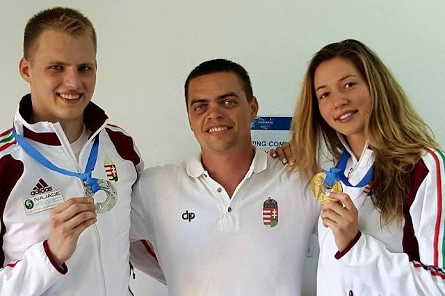 Vasárnap Petra második aranyérmét is világcsúccsal nyerte: a 200 méteres uszonyos gyorsúszásban 1:41.42 perces idővel ért célba. A férfiaknál ugyanezen a távon Gergő is a világ legjobbját érte el (1:33.31 perc), így továbbra is azzal büszkélkedhet, hogy hosszú évek óta senki nem tudta legyőzni 200 méteren.