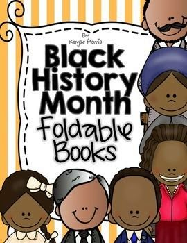 Black History Month Foldable Books