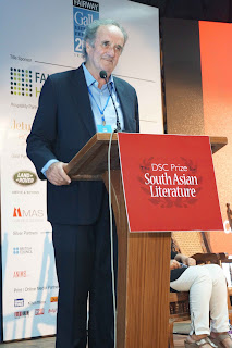 Mark Tully, Chair of the jury panel and renowned journalist.