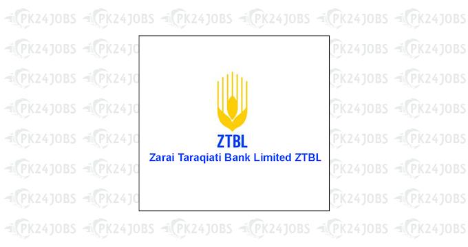 ZTBL Jobs 2020 Officer Grade-III through OTS