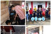 Dukung Program STBM, Kumtua Kali Turun Langsung Pembuatan Jamban