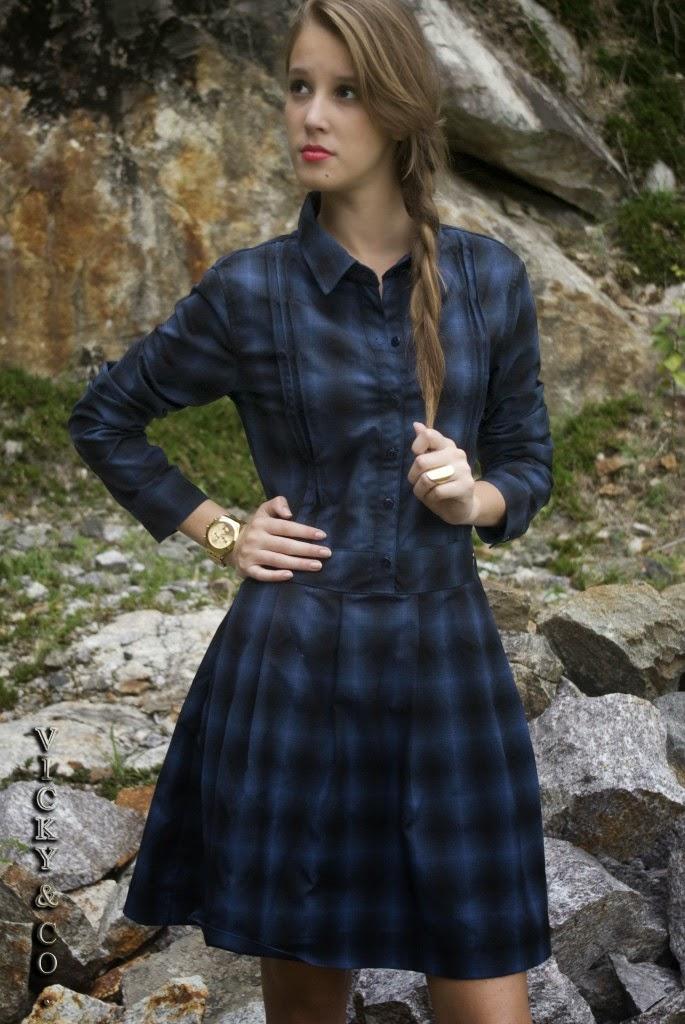 modelos de vestidos xadrez para o inverno - dicas e fotos
