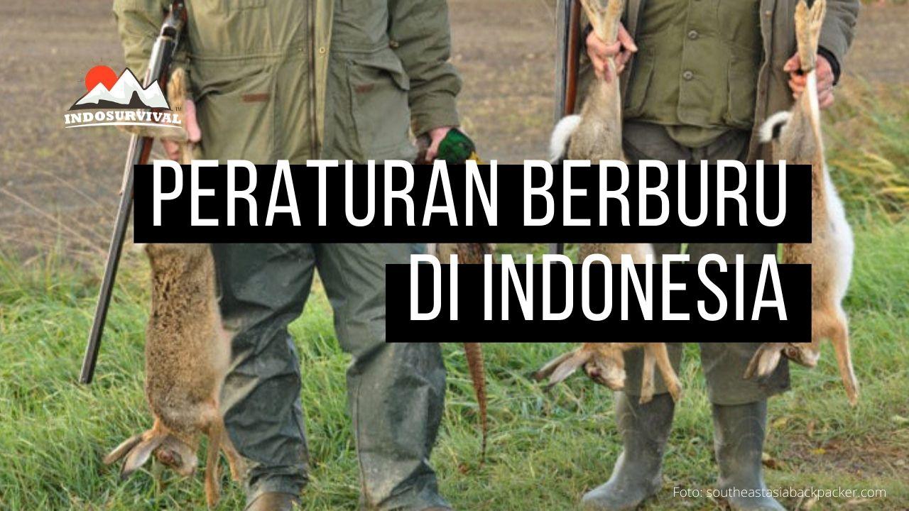 Peraturan Perburuan Hewan Liar di Indonesia ini Sebelum Berburu