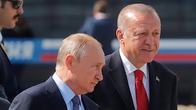 Erdogan Berseorangan Menghadapi Kuasa Rusia