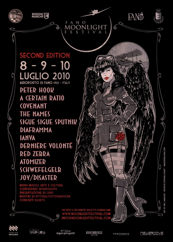 09 Jul 2010, Moonlight Festival, Fano, Italy - A Certain Ratio Gigography