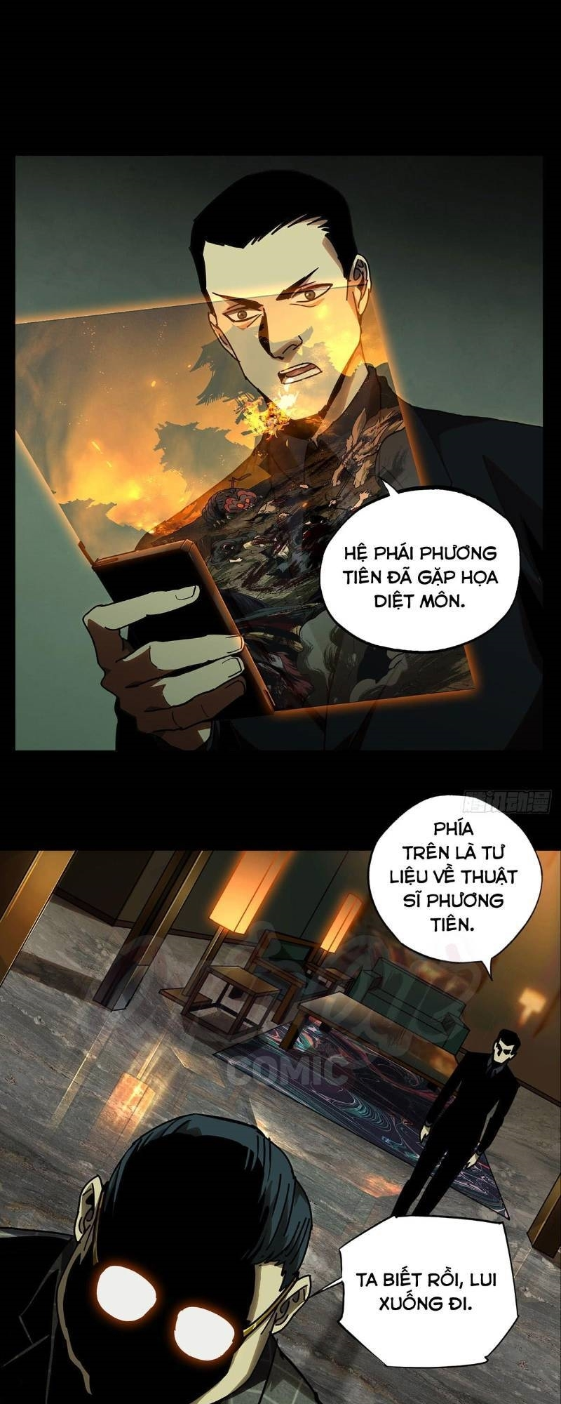 Đại Tượng Vô Hình chap 54 - Trang 19