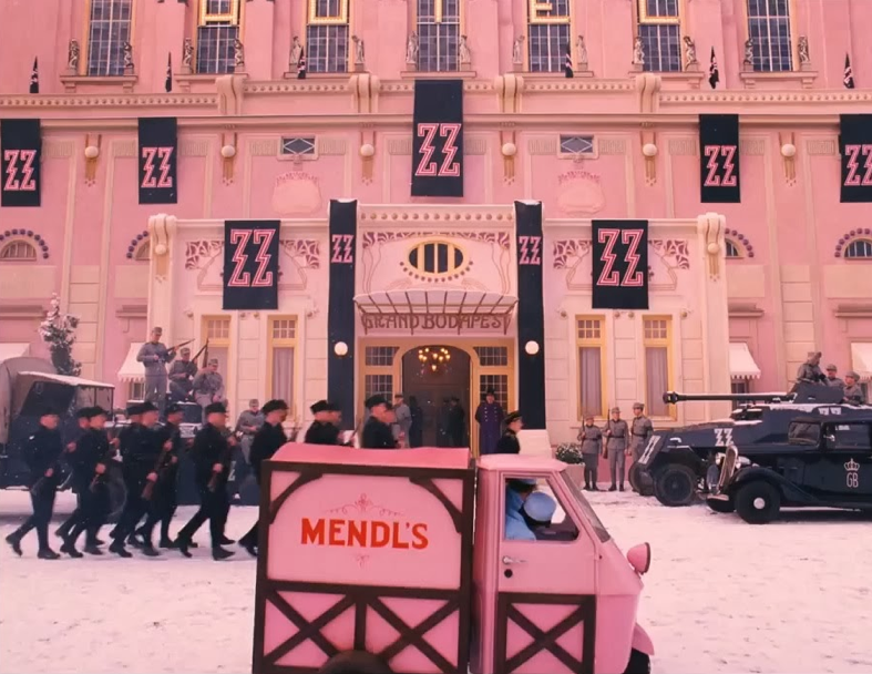 Are The Hills Going To March Off The Grand Budapest Hotel 2014 A Film By Wes Anderson