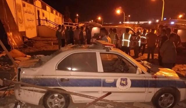 بالفيديو .. 40 قتيلا  بغارة جوية على مركز لإيواء المهاجرين في ليبيا وعشرات الجرحى