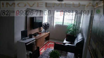 sala-estar-apartamento-a-venda-no-residencial-cidade-jardim-tabuleiro-dos-martins-maceio-alagoas