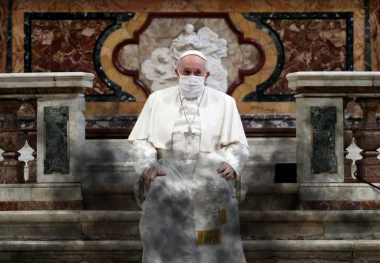 Apostata Papa Bergoglio Vicario dell'Anticristo