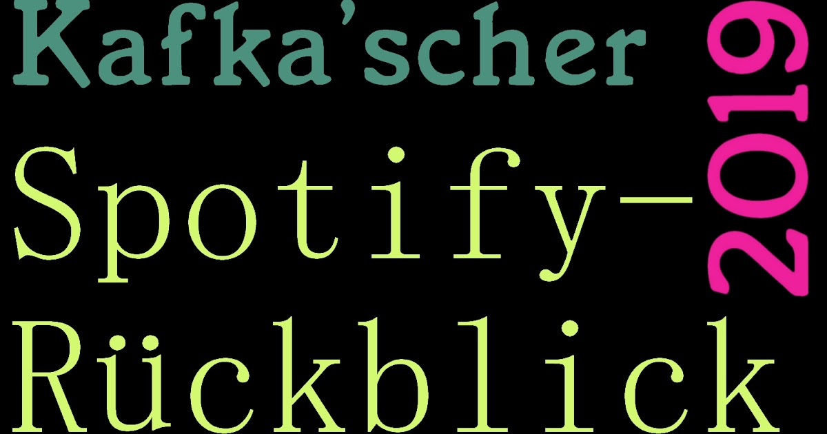 Spotify Rückblick