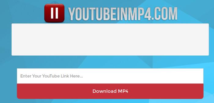 baixar videos da internet com o youtubeinmp4