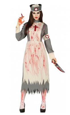 halloween dames kostuum dode zuster
