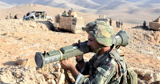 Lebanese army launches anti-terror operation near Syrian border