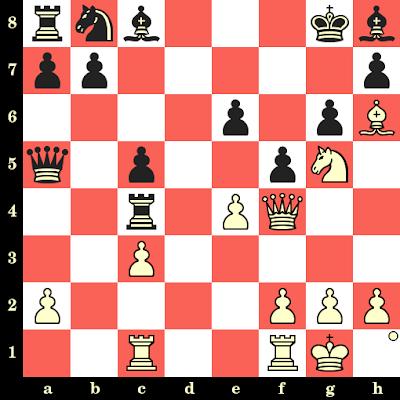Les Blancs jouent et matent en 4 coups - Harald Matthey vs Lothar Olzem, Allemagne, 1991