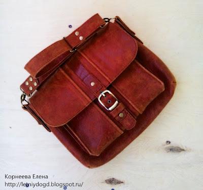 коричневая сумочка женская из натуральной кожи купить