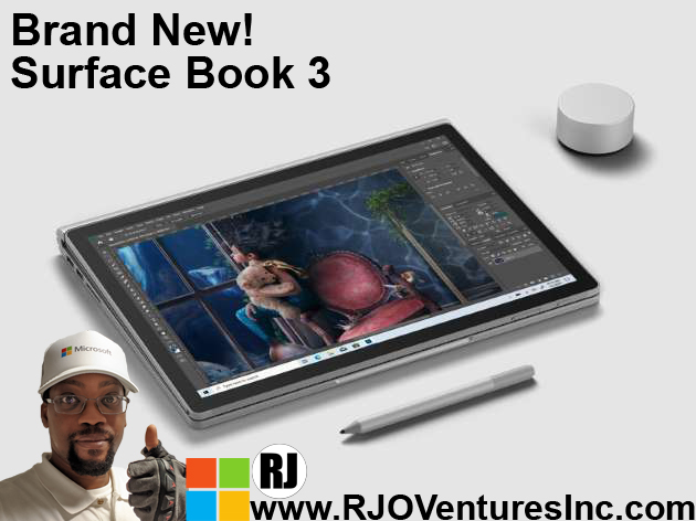 Available Now: New Surface Book 3; Microsoft Power Performance Device! [RJOVenturesInc.com]