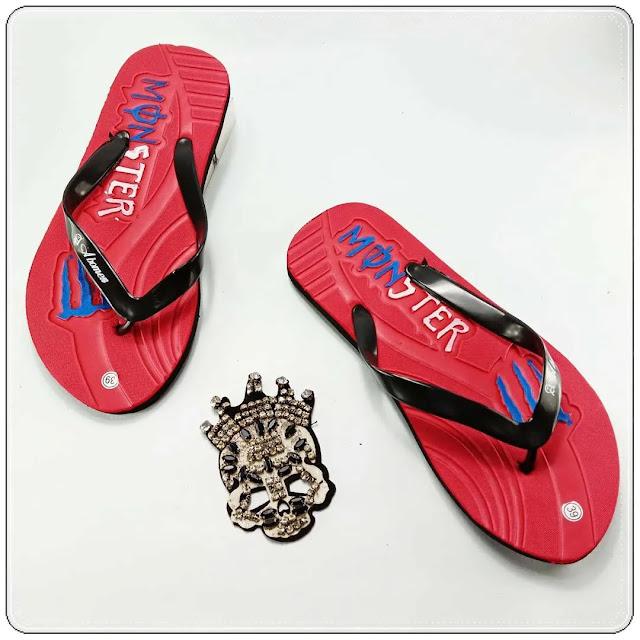 Grosir Sandal Pria Termurah || Sandal Jepit AMX Social DWS