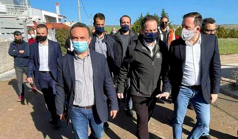 Στην Αλεξανδρούπολη ο αναπληρωτής Υπουργός Εσωτερικών Στέλιος Πέτσας
