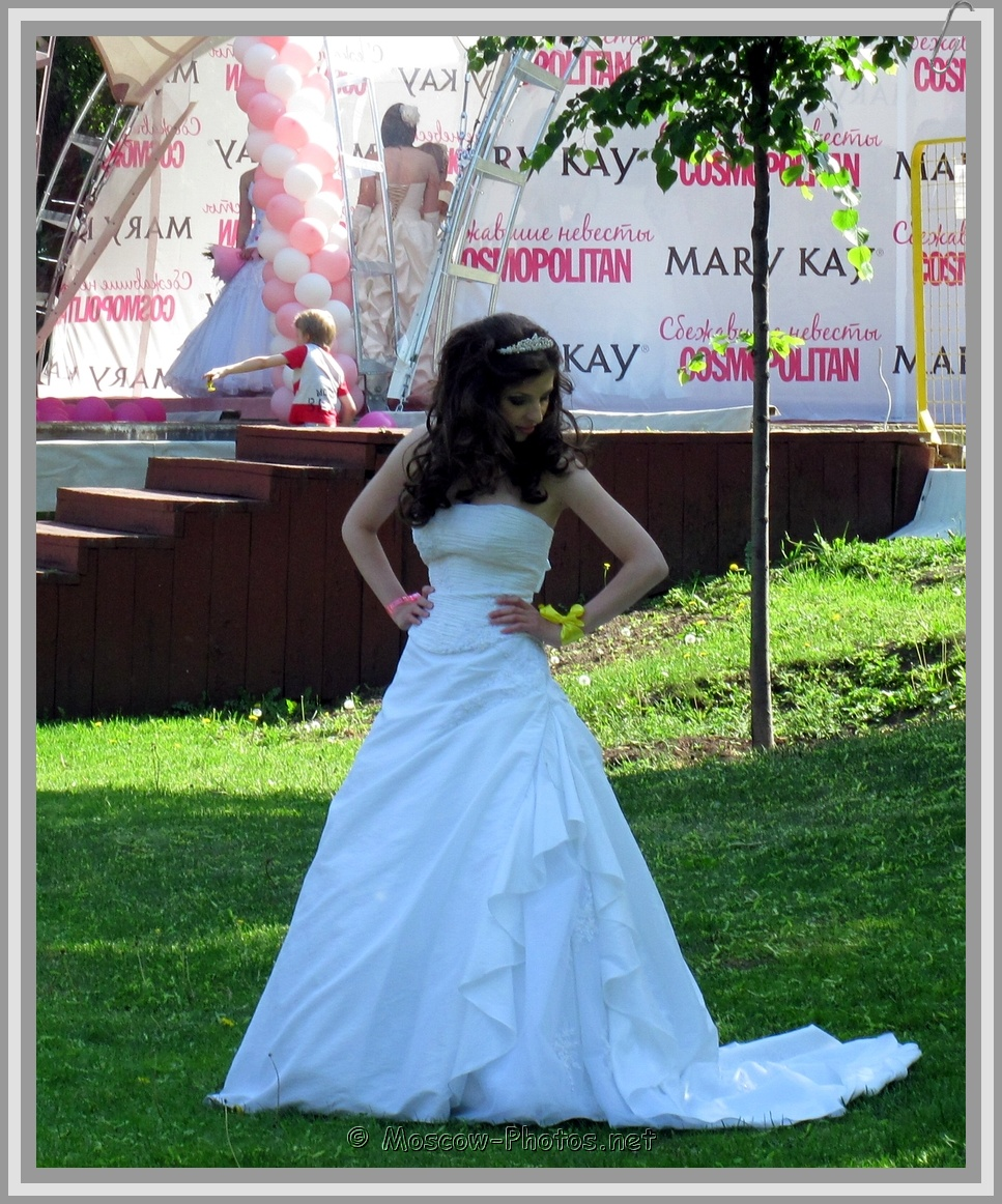 Beautiful Moscow Bride