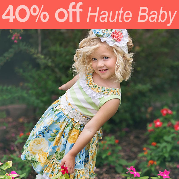 Haute Baby boutique kids clothing sale