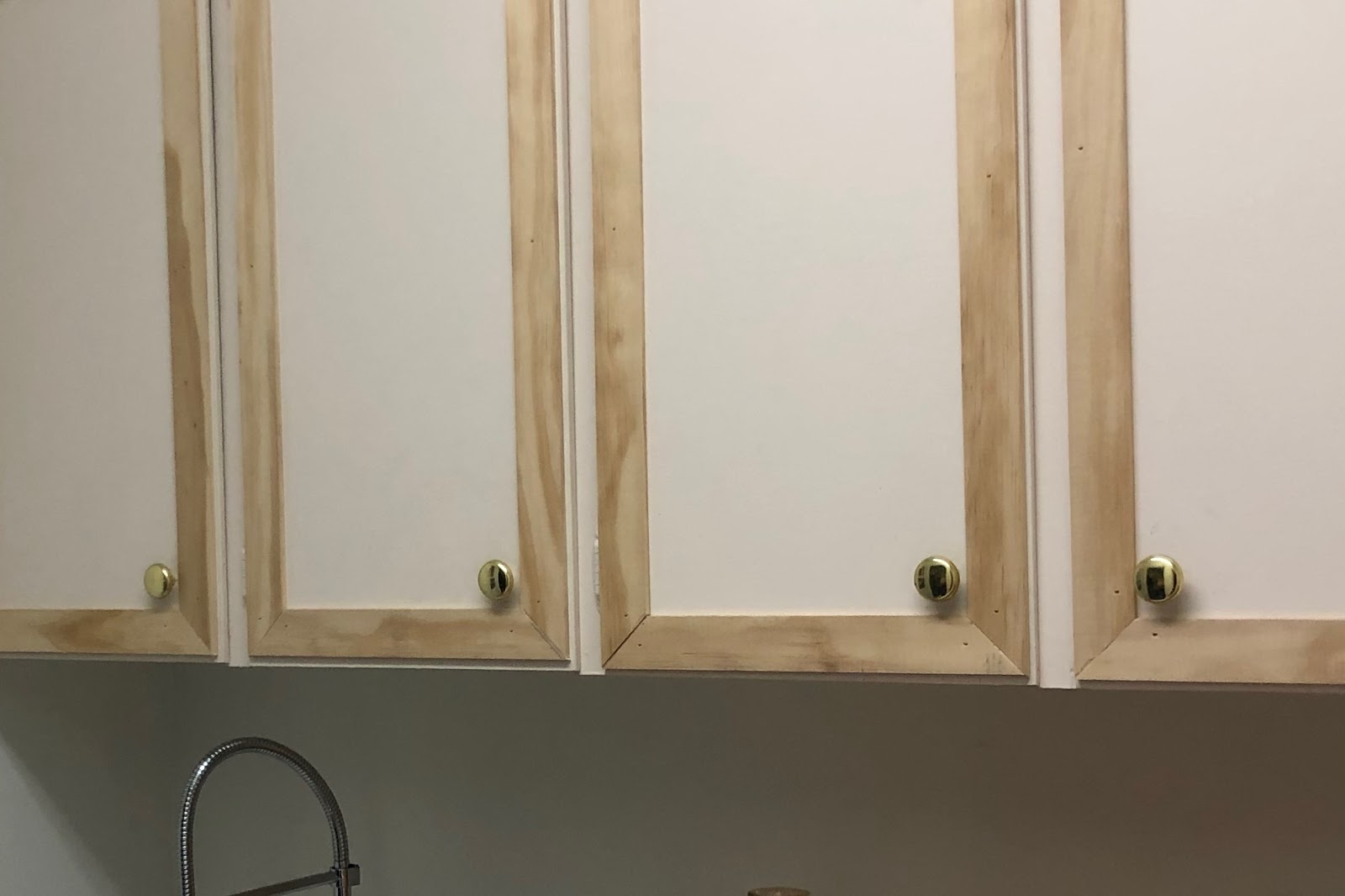 one room challenge: week 5 - updating old cabinets