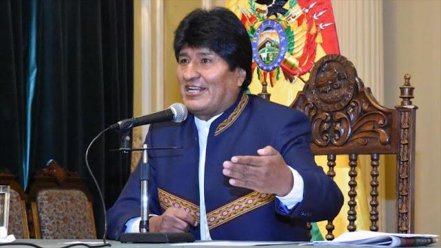 Morales da por 'fracasada' la campaña opositora en su contra