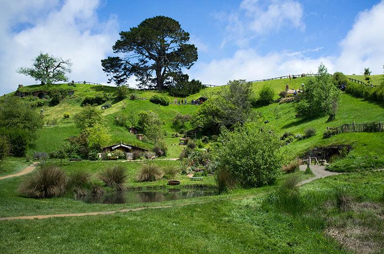 El Set de Filmación de Hobbiton | Nueva Zelanda