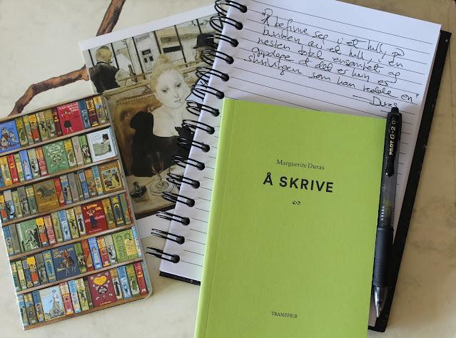 Å skrive av Marguerite Duras