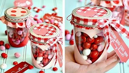 Muyvariado Com Frasco Romantico Para San Valentin Manualidades
