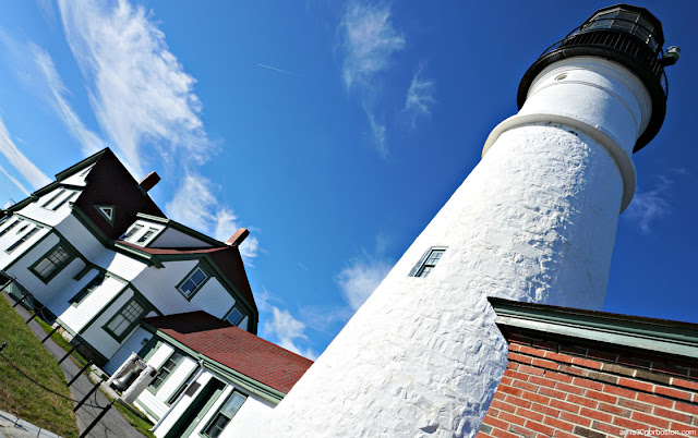 Faro Portland Head Light en Maine