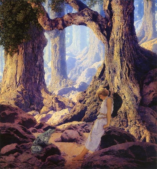 Maxfield Parrish | Romantic Painter / Illustrator | Tutt'Art@ | Pittura • Scultura • Poesia • Musica