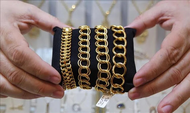 سعر الذهب في تركيا اليوم الأثنين 28/12/2020