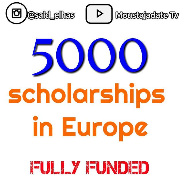 More than 5000 Scholarships in Europe 2021 | Get your chance Now