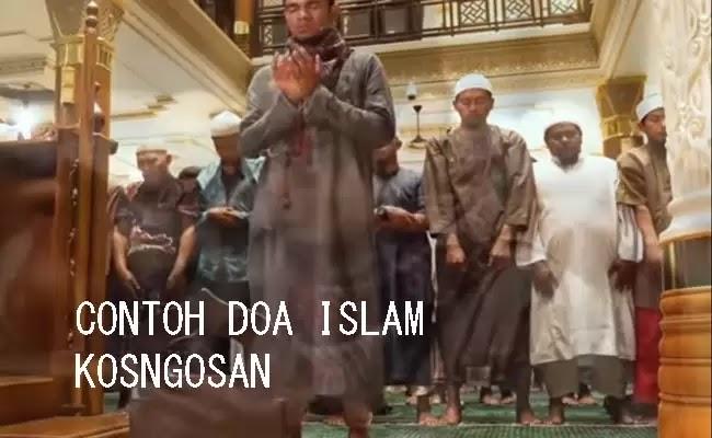 contoh doa pagi islam