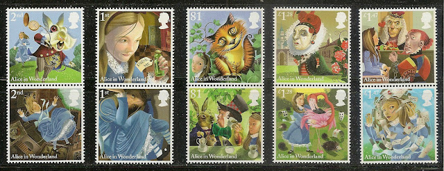 GB Alice's Adventures in Wonderland set