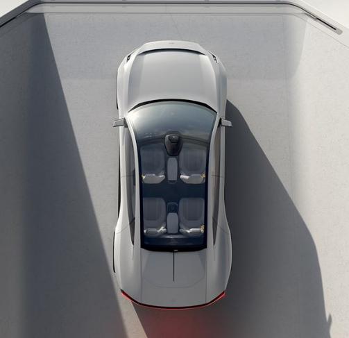 teknologi pada mobil listrik volvo